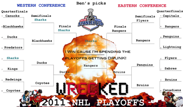Ben's 2011 NHL Playoff Predictions