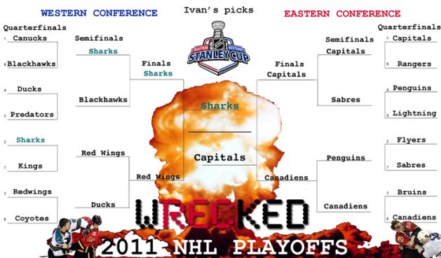 Ivan's 2011 NHL Playoff Predictions
