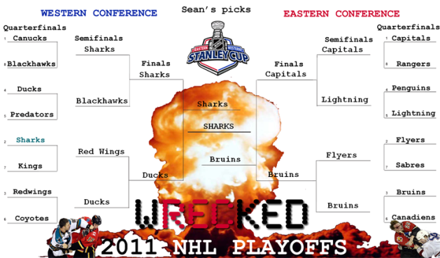 Sean's 2011 NHL Playoff Predictions