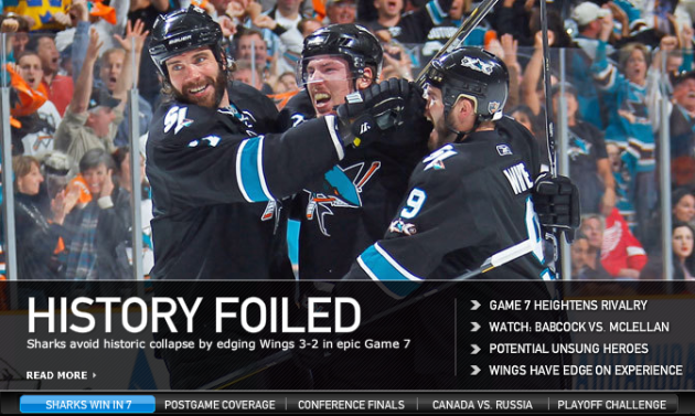 Sharks Win Game 7